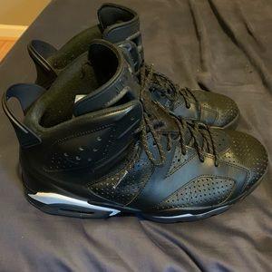 """Jordan 7 """"Black Cat"""" size 10.5"""